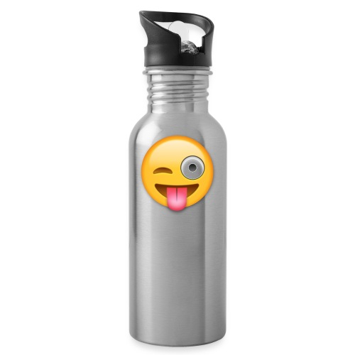 Winking Face - Trinkflasche