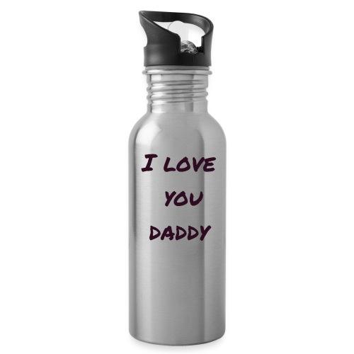 Ich liebe dich Papa - Vatertagsgeschenktipp - Trinkflasche