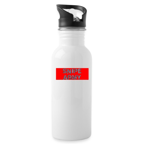 Snipe Army Box Logo - Trinkflasche