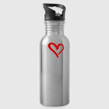 I love Eiskunstlauf - Trinkflasche