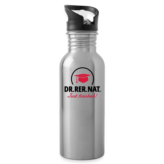 Biologe Chemiker Doktorhut Geschenk Promotion Trinkflasche