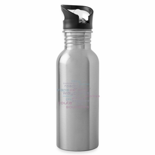 Cachetur.no Word Cloud - Water Bottle