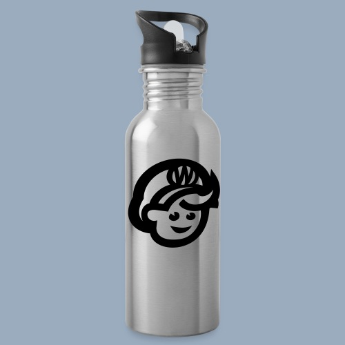 logo bb spreadshirt bb kopfonly - Trinkflasche