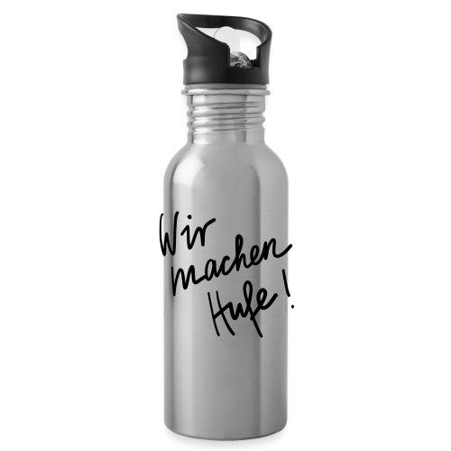 Wir_machen_Hufe - Trinkflasche