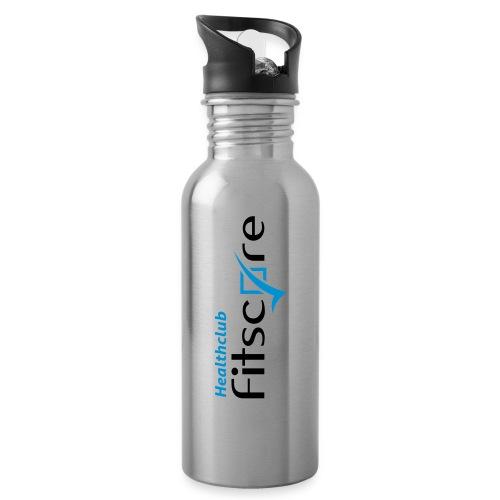 Healthclub Fitscore - Drinkfles met geïntegreerd rietje