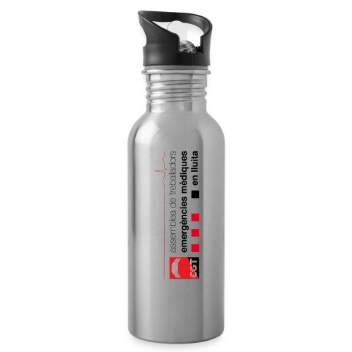 logo cgtassemblea png - Botella cantimplora con pajita integrada