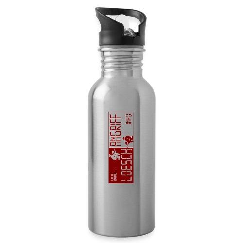 Logo2014 jpg - Trinkflasche mit integriertem Trinkhalm