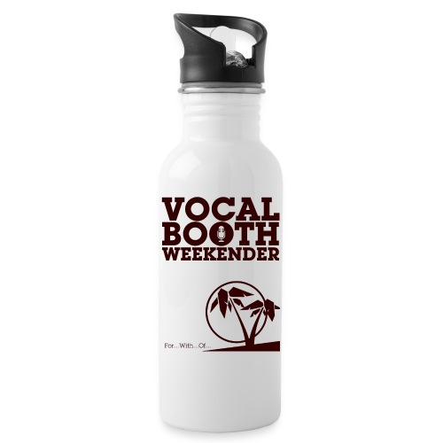 VB2015 Tropical - Water bottle with straw