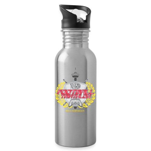 Football Triathlon World Championships logo - Water bottle with straw