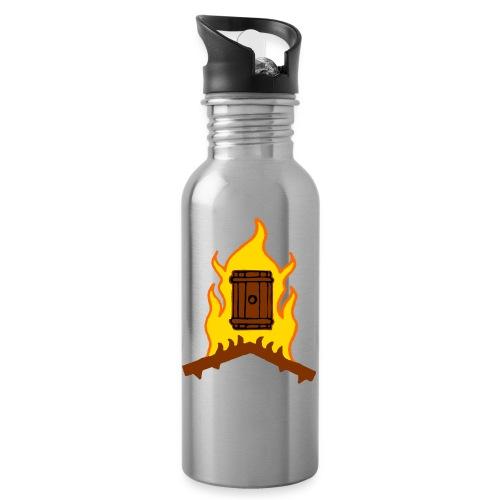 TP-palavatynnyri - Juomapullo, jossa pilli