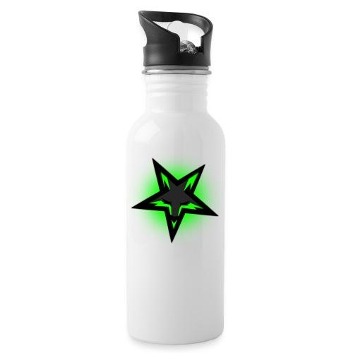 KDutch Logo - Water bottle with straw