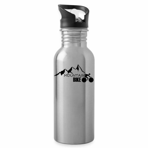 MOUNTAINBIKE - Trinkflasche mit integriertem Trinkhalm