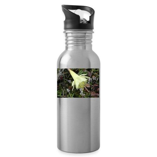 Naturaleza - Botella cantimplora con pajita integrada