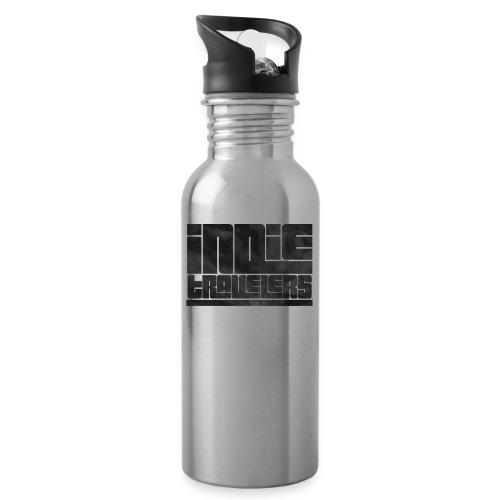 Indie Travelers - Botella cantimplora con pajita integrada