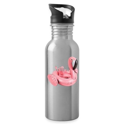 Living the Summer - Botella cantimplora con pajita integrada