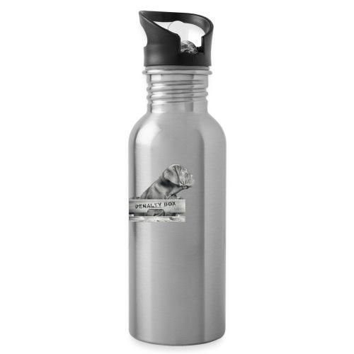 Penalty Box - Drikkeflaske med integreret sugerør