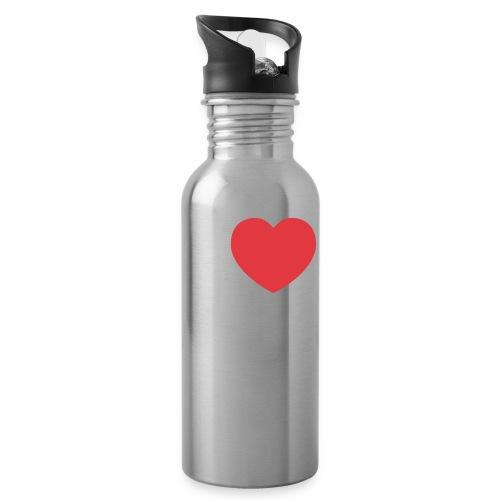 Love Le Corbusier - Botella cantimplora con pajita integrada