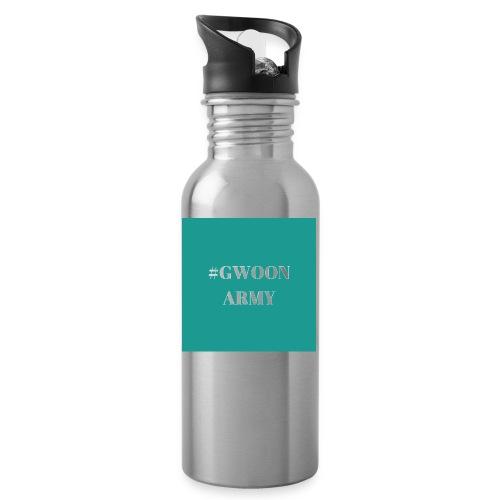 #gwoonarmy - Drinkfles met geïntegreerd rietje