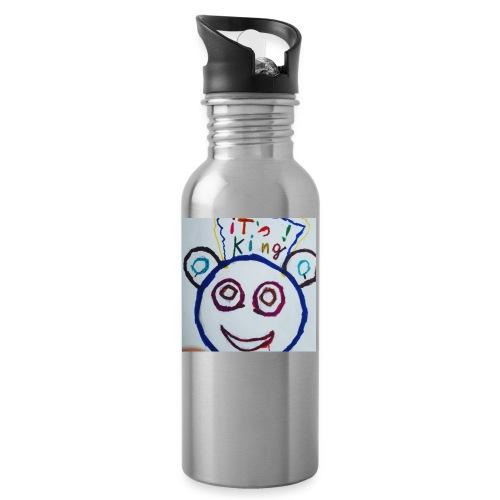 de panda beer - Drinkfles met geïntegreerd rietje