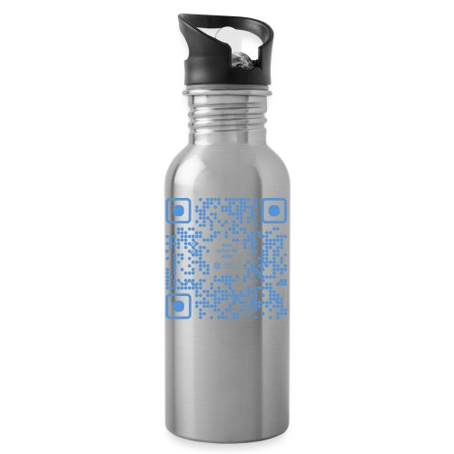 QR The New Internet Shouldn t Be Blockchain Based - Water bottle with straw