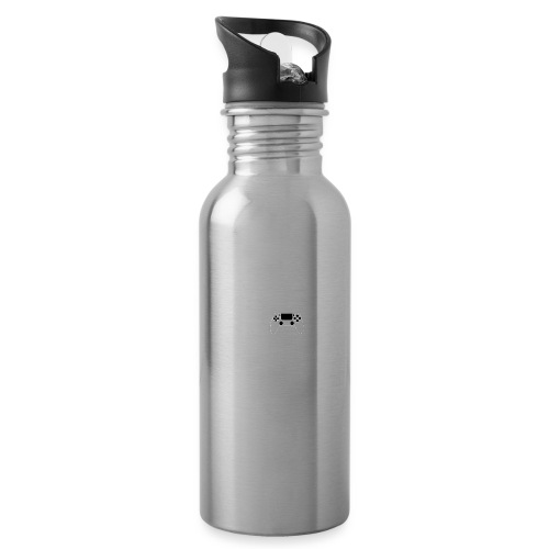 Eat, sleep, game, REPEAT - Water bottle with straw