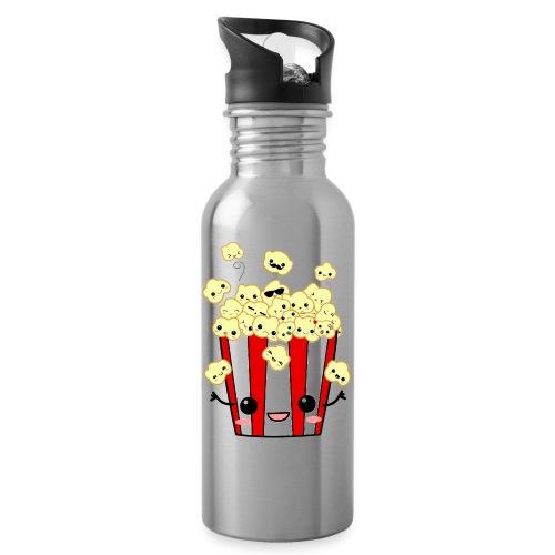 PopCorn - Botella cantimplora con pajita integrada