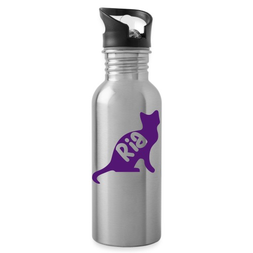 Team Ria Cat - Water bottle with straw
