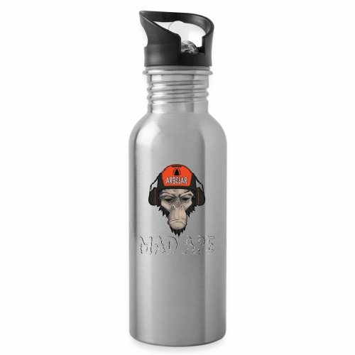 Mad Ape Collection - Water bottle with straw