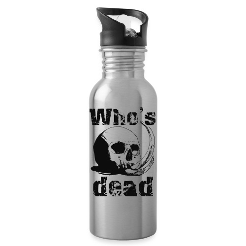 Who's dead - Black - Borraccia con cannuccia integrata