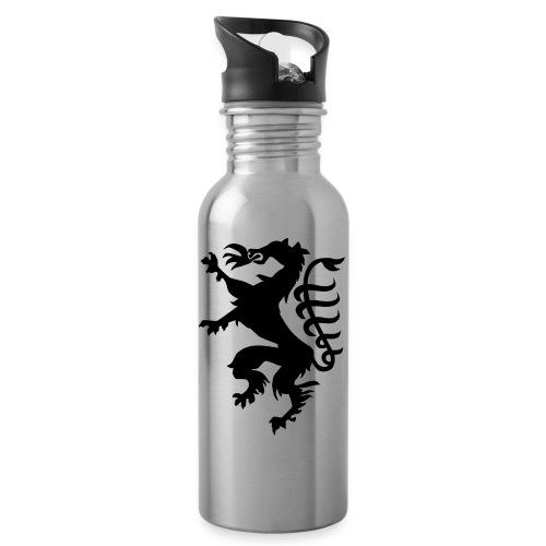 Steiermark Wappen - Trinkflasche mit integriertem Trinkhalm