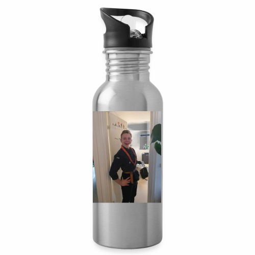 udvidet spejderdreng - Drikkeflaske med integreret sugerør