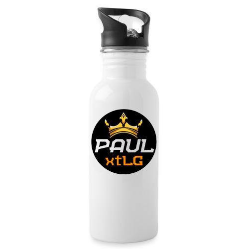 Paul xtLG kreis - Trinkflasche mit integriertem Trinkhalm
