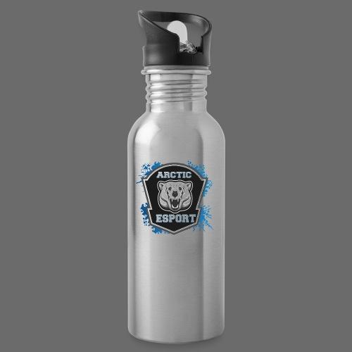 Arctic Esport Team Logo - Water bottle with straw
