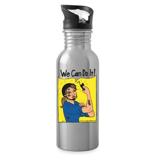 We Can Do It! - Juomapullo, jossa pilli