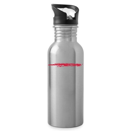 Linie_02 - Trinkflasche mit integriertem Trinkhalm