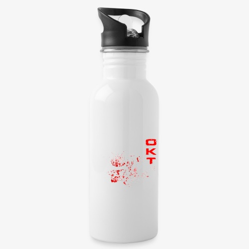 Outkasts Scum OKT Front - Water bottle with straw