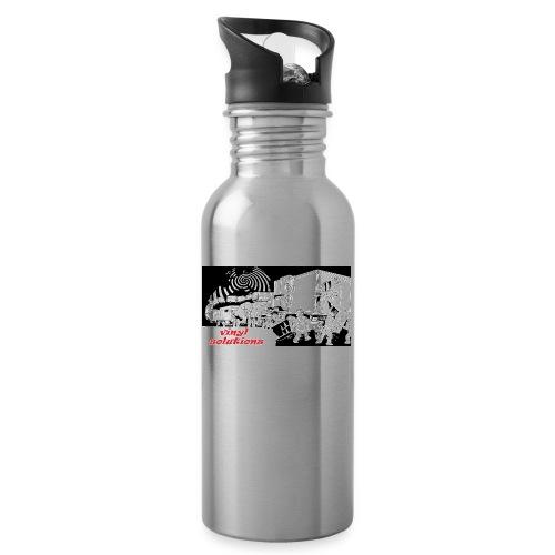 vinyl solutionz - Water bottle with straw