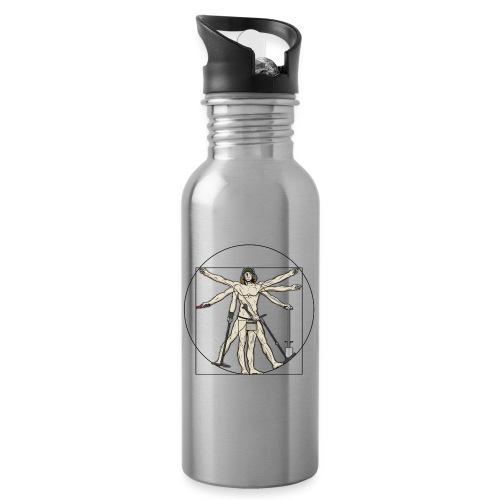 Universal Detectorist - Botella cantimplora con pajita integrada