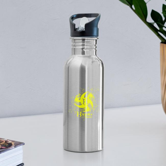 Hydra Design - logo glass explosion