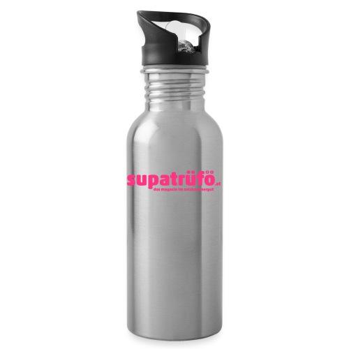 supatrüfö das magazin im salzkammergut - Trinkflasche mit integriertem Trinkhalm
