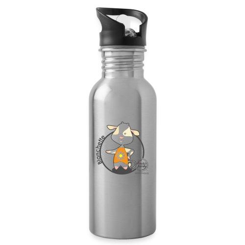 FF BLANCHETTE 02 - Trinkflasche mit integriertem Trinkhalm
