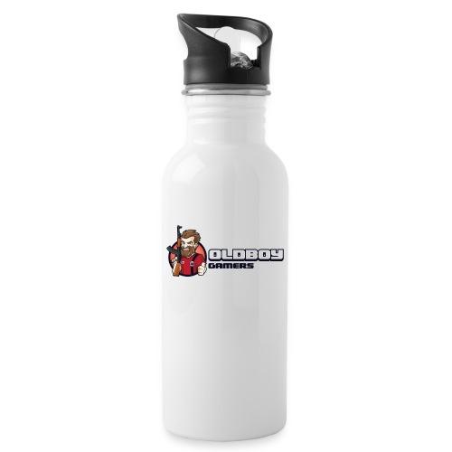 Oldboy Gamers Fanshirt - Drikkeflaske med integrert sugerør