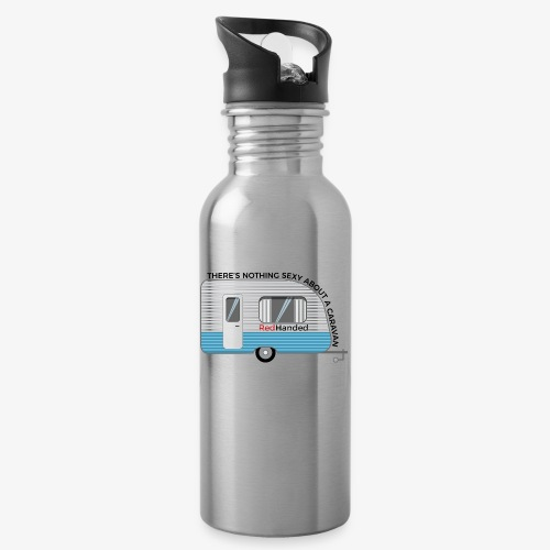 Caravans Aren't Sexy - Water bottle with straw