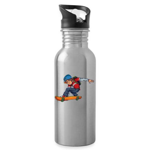 Skater - Water bottle with straw