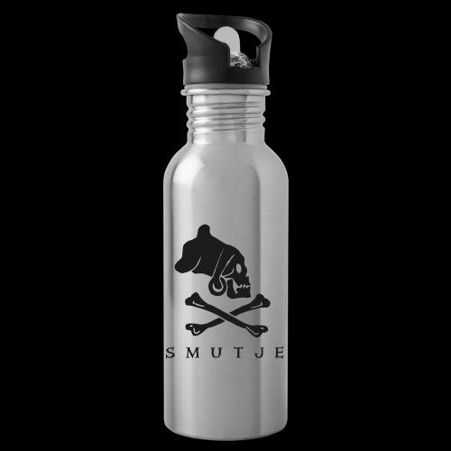 ~ Smutje ~ - Trinkflasche mit integriertem Trinkhalm