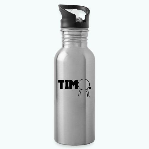 Design met ventje - Drinkfles met geïntegreerd rietje