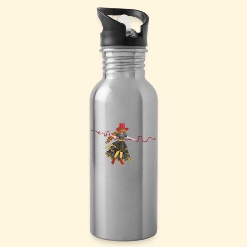 Ladybird - La célèbre uchronaute - Gourde avec paille intégrée