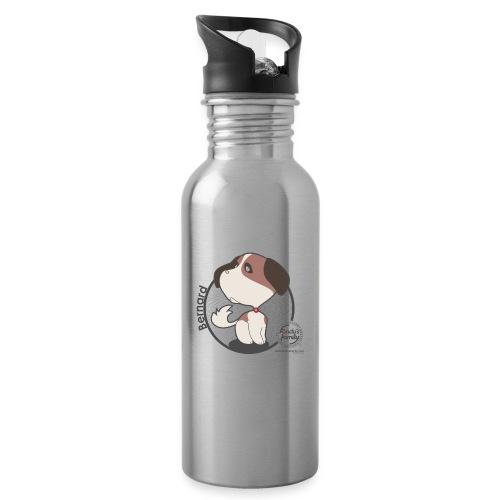 FF BERNARD 02 - Trinkflasche mit integriertem Trinkhalm
