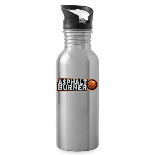 Asphalt Burner - for streetball players - Water bottle with straw