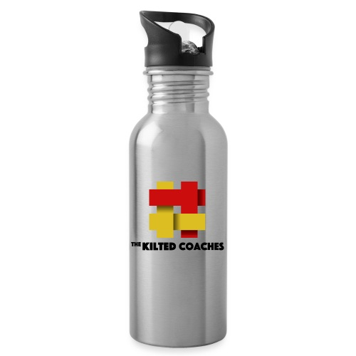 Kilted Coaches - Water bottle with straw